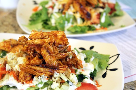 Make two individual salads