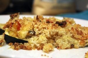 Plated Crispy Zucchini